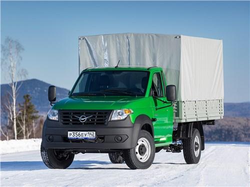 УАЗ Profi - уаз «профи» 4x4 2018 превращение компактного пикапа в мощный грузовик