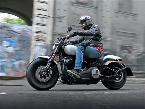 Harley-Davidson Fat Bob. Возьми быка за рога!