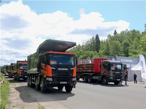 Scania В полном составе