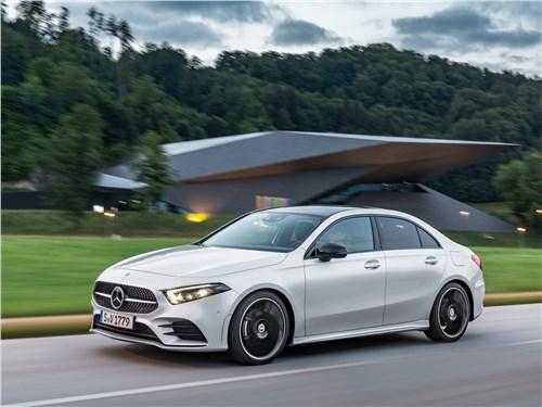 Новый Mercedes-Benz A-Class - Mercedes-Benz A-Class 2019 Новый игрок