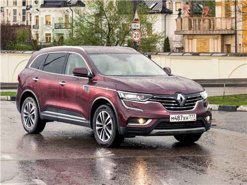 Renault Koleos - renault koleos 2017 решил сыграть на премиальном поле