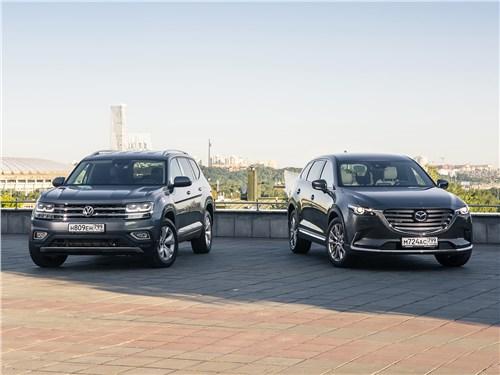 Mazda CX-9 - сравнительный тест mazda cx-9 2016 и volkswagen teramont 2018: схватка «американцев» в россии