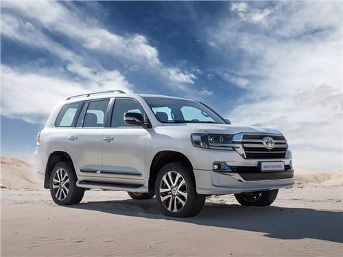Новость про Toyota Land Cruiser - oyota Land Cruiser 200 Executive Lounge 2019