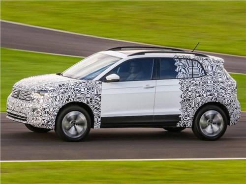 Новость про Volkswagen - Компактный кроссовер от Volkswagen уже скоро покажут