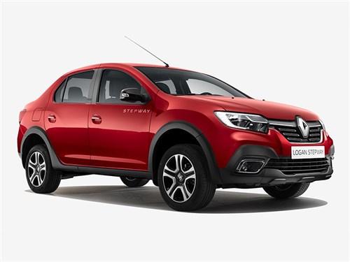Новость про Renault - renault logan stepway 2018