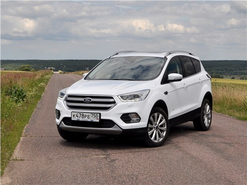 Ford Kuga - ford kuga 2017 дарит драйв и думает о пассажирах