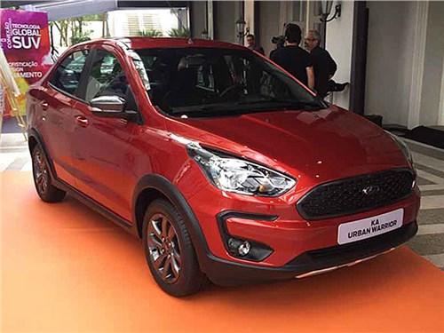 Форд показал компактный седан во вседорожной версии