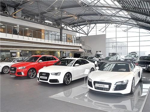 Новость про Audi - Audi теряет покупателей на рынке РФ