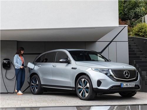 Новый Mercedes-Benz EQC - Mercedes-Benz EQC 2020 Шик и электричество
