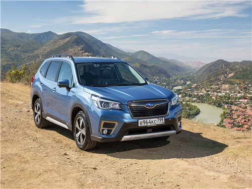 Subaru Forester - subaru forester 2019 потрафил драйверам, не обидев джиперов