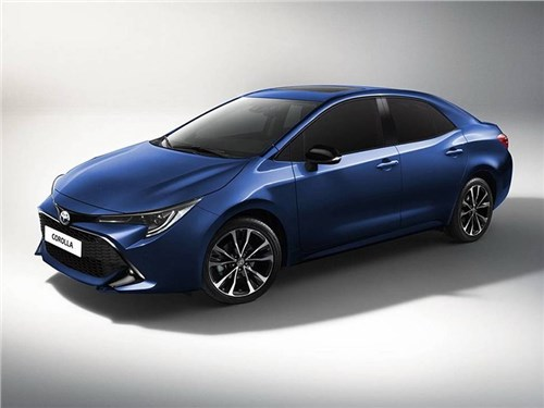 Toyota анонсировала новую Corolla