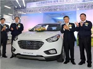 Hyundai представляет кроссовер на водороде