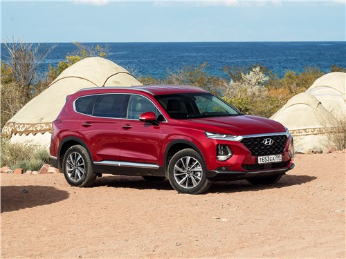 Hyundai Santa Fe - незаметный эскапизм: как умеет соблазнять новый hyundai santa fe