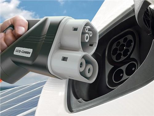 Volkswagen открыли инновационную зарядную станцию