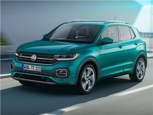 Новый Volkswagen T-Cross - Volkswagen T-Cross 2019 Юниор