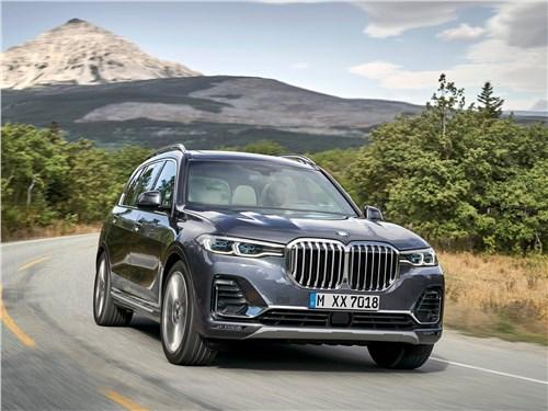 Новый BMW X7 - BMW X7 2019 Гигант