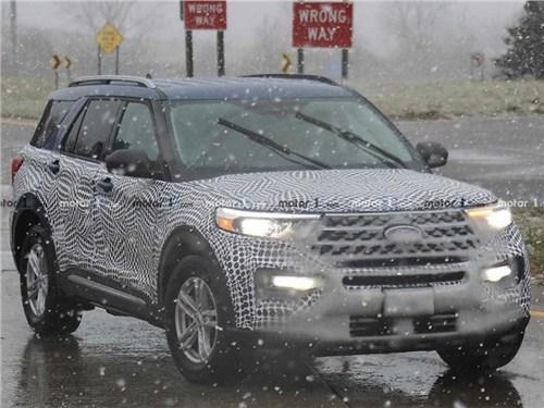 Ford Explorer приедет в Россию в следующем году