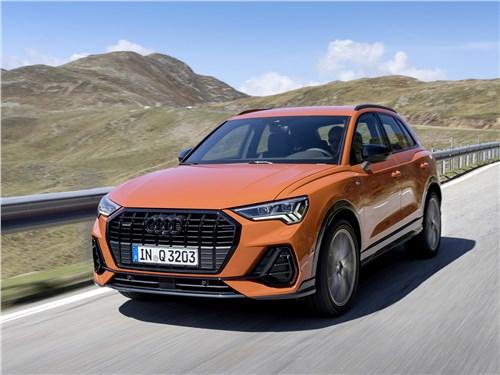 Audi Q3 - приятное с полезным: что можно погрузить в новый audi q3 2019