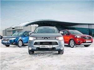 Mitsubishi Outlander, Subaru Forester, Renault Koleos
