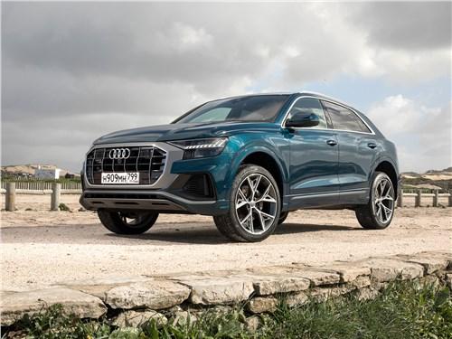 Audi Q8 - audi q8 2019 намерен навязать свои правила игры в сегменте крупных кросс-купе