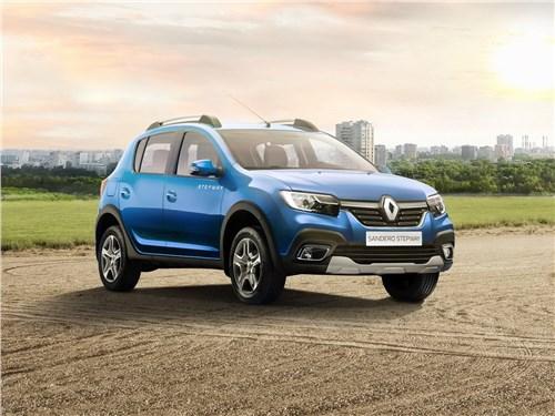 Renault Sandero Stepway 2018 вид спереди