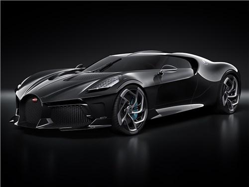 Bugatti построила уникальный гиперкар