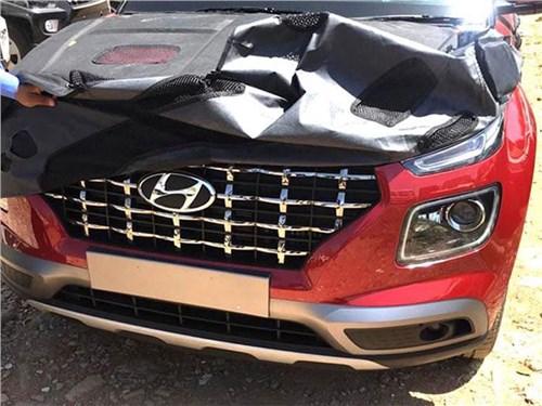 Hyundai Venue раскрыли до премьеры