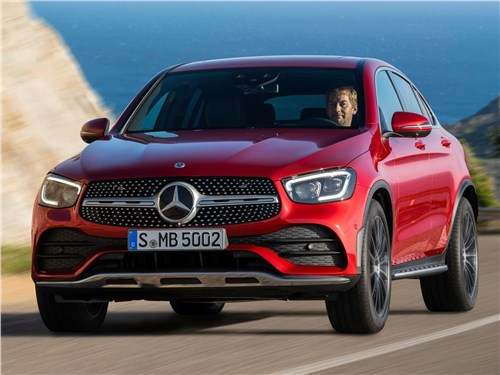 Mercedes-Benz GLC Coupe 2020 вид спереди