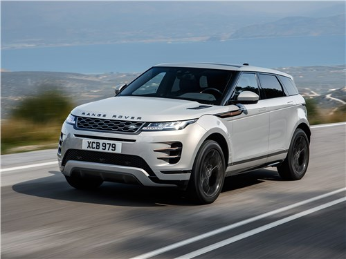 Land Rover Range Rover Evoque - land rover range rover evoque 2020 драйверы оценят, веганы поймут