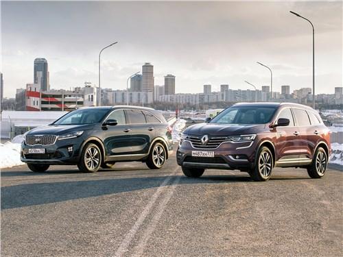 Renault Koleos - сравнительный тест. kia sorento prime и renault koleos: 7-местный «кореец» или 5-местный «француз»?