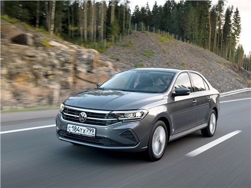 Volkswagen Polo Sedan 2020 вид спереди
