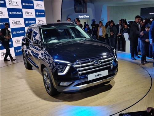 Hyundai Creta (2020) вид спереди
