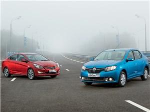 Renault Logan - hyundai solaris 2014 и renault logan 2014 битва концепций