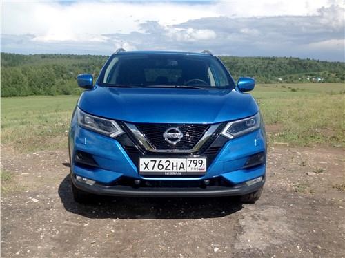 Nissan Qashqai 2018 вид спереди