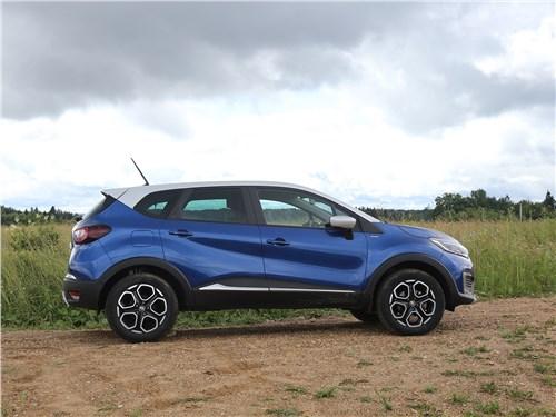 Renault Kaptur 2020 вид сбоку