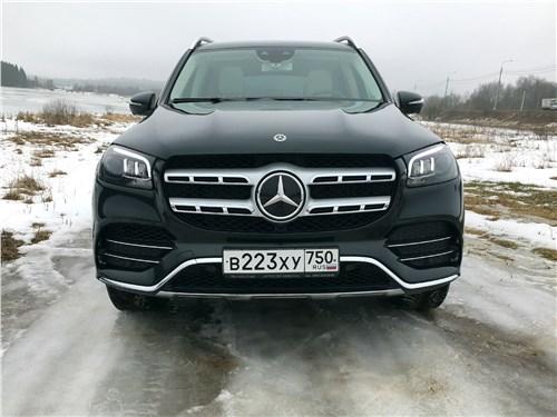 Mercedes-Benz GLS 2020 вид спереди