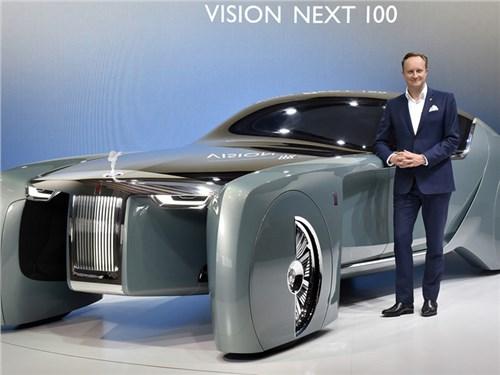 Новость про Rolls-Royce - Rolls-Royce остался без шеф-дизайнера