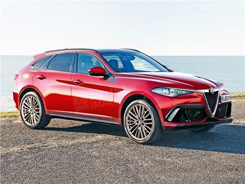 Большой кроссовер Alfa Romeo получит 400-сильный мотор