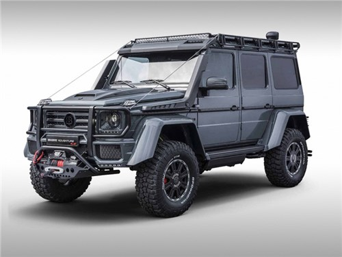 Новость про Mercedes-Benz G-Class - Brabus 550 Adventure
