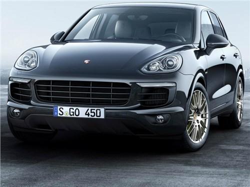 Новость про Porsche Cayenne S - Porsche вывел на российский рынок Cayenne S в «платиновом» исполнении