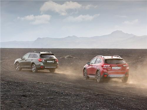 Грунтовки из вулканической породы – типичный исландский пейзаж