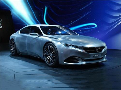 Peugeot может привезти в Женеву новую флагманскую модель