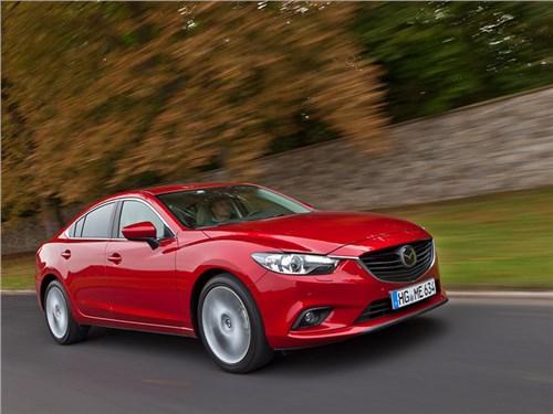 У российских Mazda6 нашли проблемы с тормозами