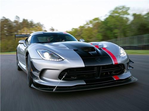 Dodge прекращает производство Viper