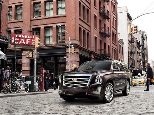 Cadillac привез в Россию обновленный Escalade