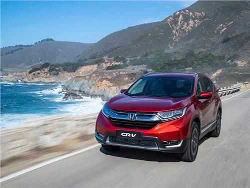 Honda рассказала о новой версии кроссовера CR-V для России