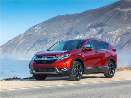 Новый Honda CR-V - Honda CR-V 2017 Пятая рекреация