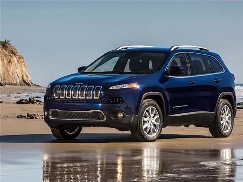Jeep Cherokee обновят в этом году