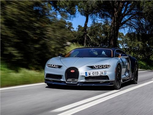 Bugatti Chiron не сможет разогнаться быстрее 450 км/ч