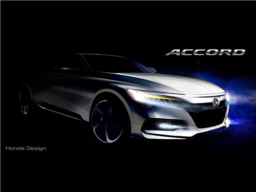 Новость про Honda Accord - Honda Accord 2018